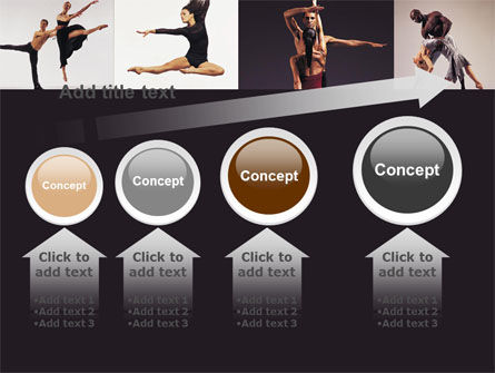 Contemporary Dance PowerPoint Template Slide 13