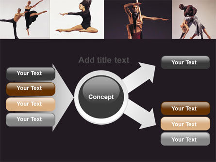 Contemporary Dance PowerPoint Template Slide 14