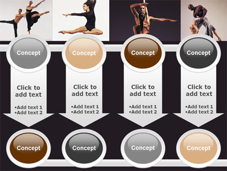 Contemporary Dance PowerPoint Template Slide 18