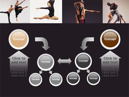 Contemporary Dance PowerPoint Template Slide 19