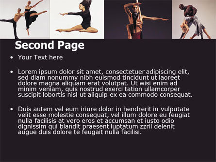 Contemporary Dance PowerPoint Template Slide 2