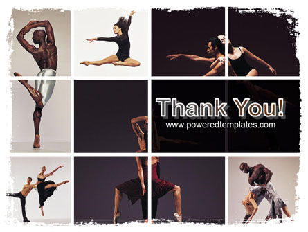Contemporary Dance PowerPoint Template Slide 20