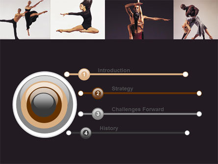 Contemporary Dance PowerPoint Template Slide 3