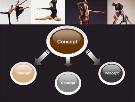 Contemporary Dance PowerPoint Template Slide 4