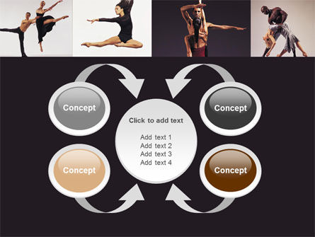 Contemporary Dance PowerPoint Template Slide 6