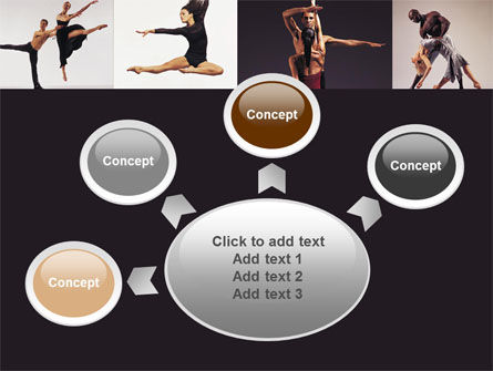 Contemporary Dance PowerPoint Template Slide 7