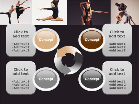 Contemporary Dance PowerPoint Template Slide 9