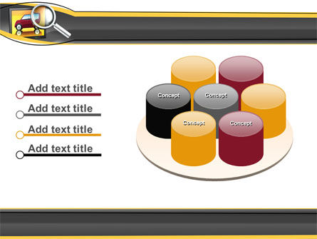 Auto Search PowerPoint Template Slide 12