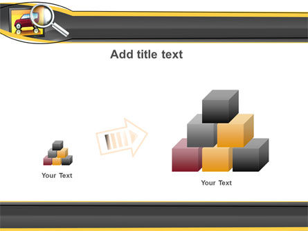 Auto Search PowerPoint Template Slide 13