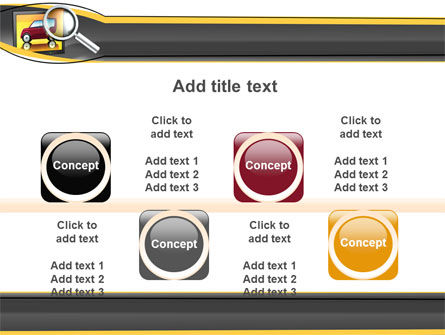 Auto Search PowerPoint Template Slide 18