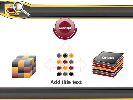 Auto Search PowerPoint Template Slide 19