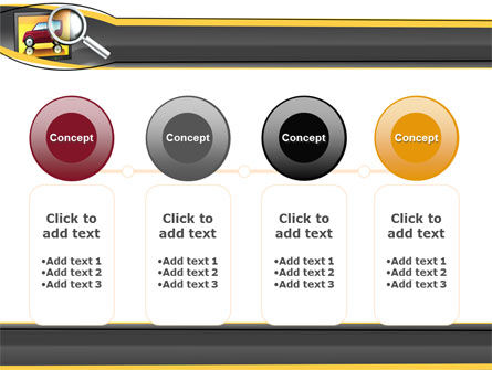Auto Search PowerPoint Template Slide 5