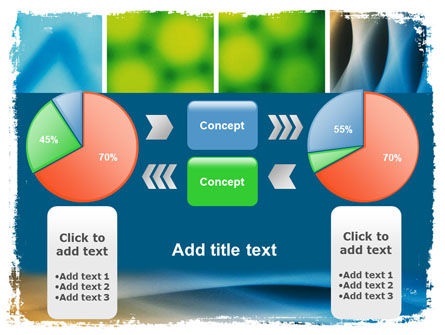 Colors Multiscreen Collage PowerPoint Template Slide 11
