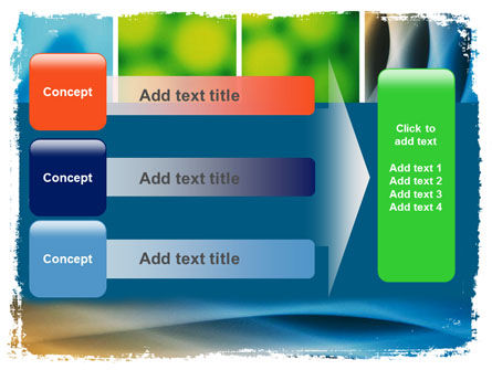 Colors Multiscreen Collage PowerPoint Template Slide 12