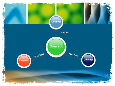 Colors Multiscreen Collage PowerPoint Template Slide 14