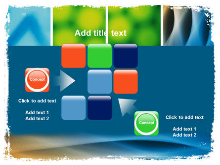 Colors Multiscreen Collage PowerPoint Template Slide 16