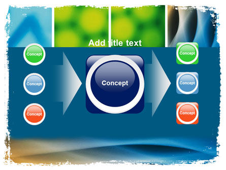 Colors Multiscreen Collage PowerPoint Template Slide 17