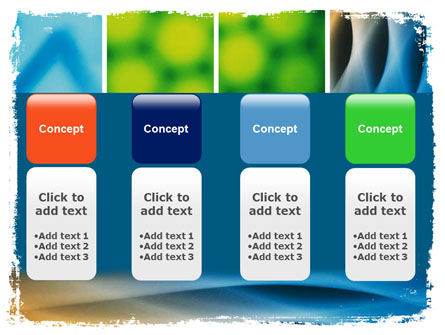 Colors Multiscreen Collage PowerPoint Template Slide 5