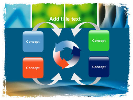 Colors Multiscreen Collage PowerPoint Template Slide 6
