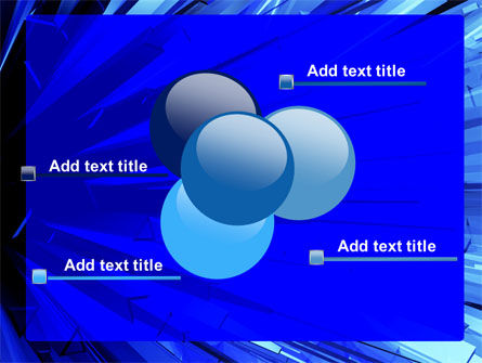 Blue Crystal Free PowerPoint Template Slide 10