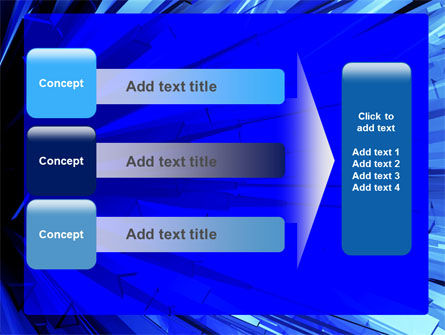 Blue Crystal Free PowerPoint Template Slide 12