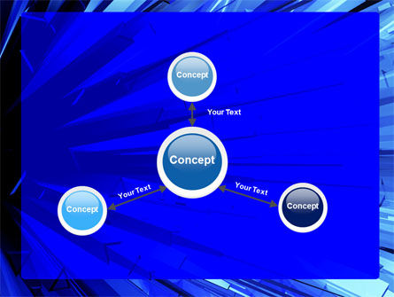 Blue Crystal Free PowerPoint Template Slide 14