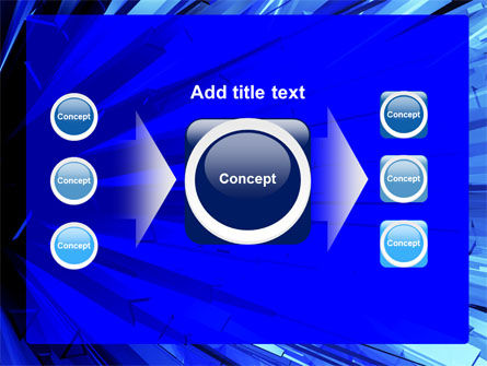 Blue Crystal Free PowerPoint Template Slide 17