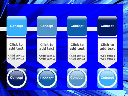 Blue Crystal Free PowerPoint Template Slide 18