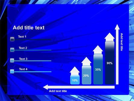 Blue Crystal Free PowerPoint Template Slide 8