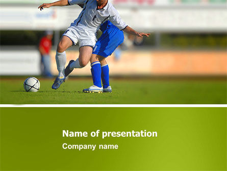 Sports: Football Match PowerPoint Template #05681