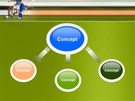 Football Match PowerPoint Template, Slide 4, 05681, Sports — PoweredTemplate.com