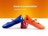 Careers/Industry: Slippers PowerPoint Template #05682