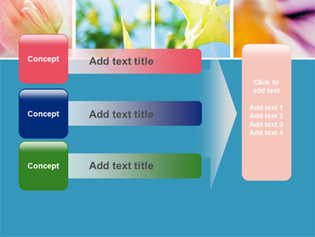 Blooming Lilies Free PowerPoint Template Slide 12