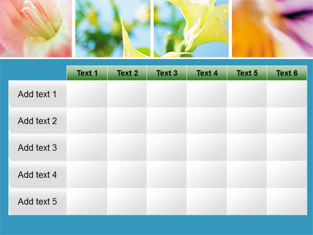 Blooming Lilies Free PowerPoint Template Slide 15