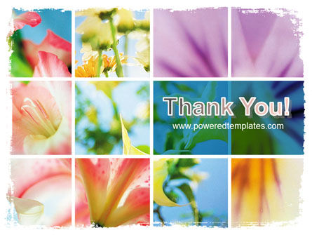 Blooming Lilies Free PowerPoint Template Slide 20