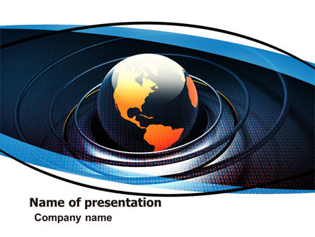 Global: Earth PowerPoint Template #05686