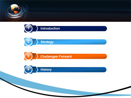 Earth PowerPoint Template, Slide 3, 05686, Global — PoweredTemplate.com
