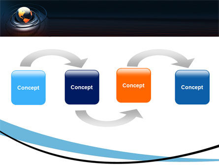 Earth PowerPoint Template, Slide 4, 05686, Global — PoweredTemplate.com