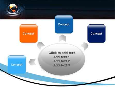 Earth PowerPoint Template Slide 7