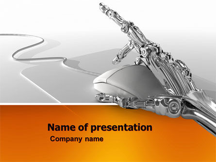 Cyber services PowerPoint Template, 05687, Technology and Science — PoweredTemplate.com
