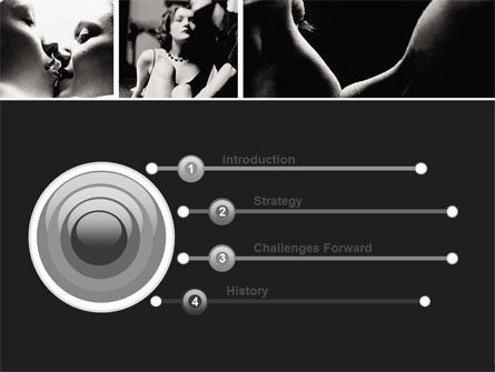 Intimacy PowerPoint Template, Slide 3, 05688, People — PoweredTemplate.com