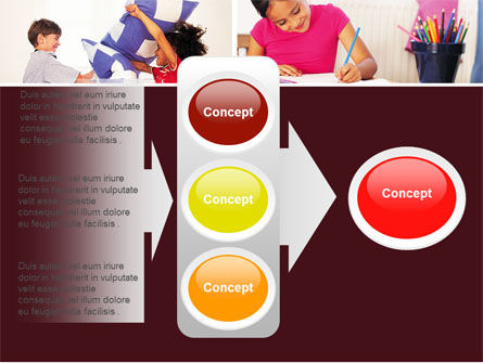 Kids Time PowerPoint Template Slide 11