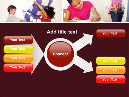 Kids Time PowerPoint Template Slide 14