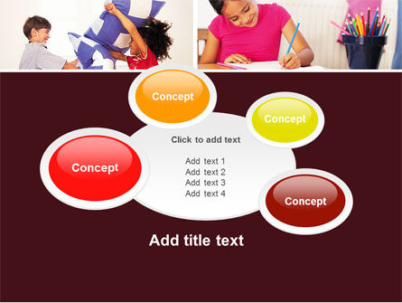 Kids Time PowerPoint Template Slide 16