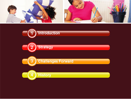 Kids Time PowerPoint Template, Slide 3, 05691, Education & Training — PoweredTemplate.com