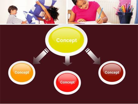 Kids Time PowerPoint Template, Slide 4, 05691, Education & Training — PoweredTemplate.com