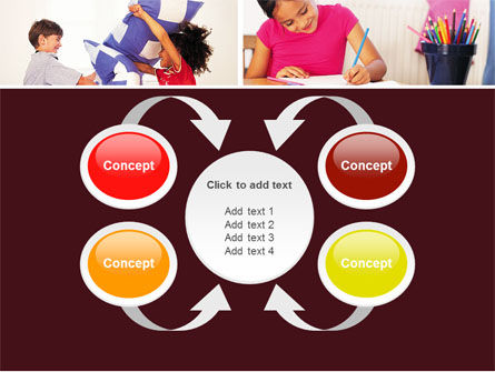 Kids Time PowerPoint Template Slide 6