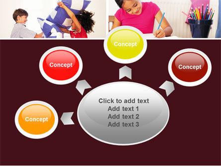 Kids Time PowerPoint Template Slide 7