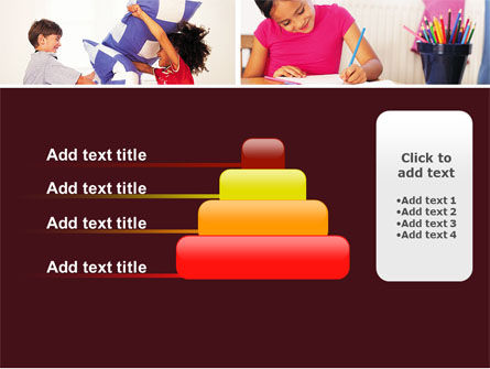 Kids Time PowerPoint Template Slide 8