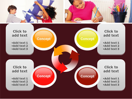 Kids Time PowerPoint Template Slide 9